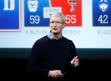 Exclusive: Apple's Tim Cook to visit China for government meetings – source