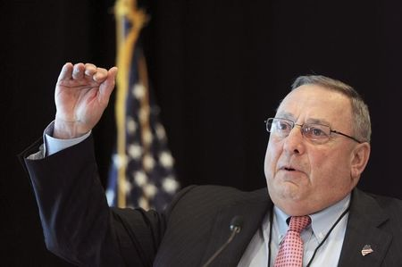 Maine governor says will not resign, to seek spiritual advice