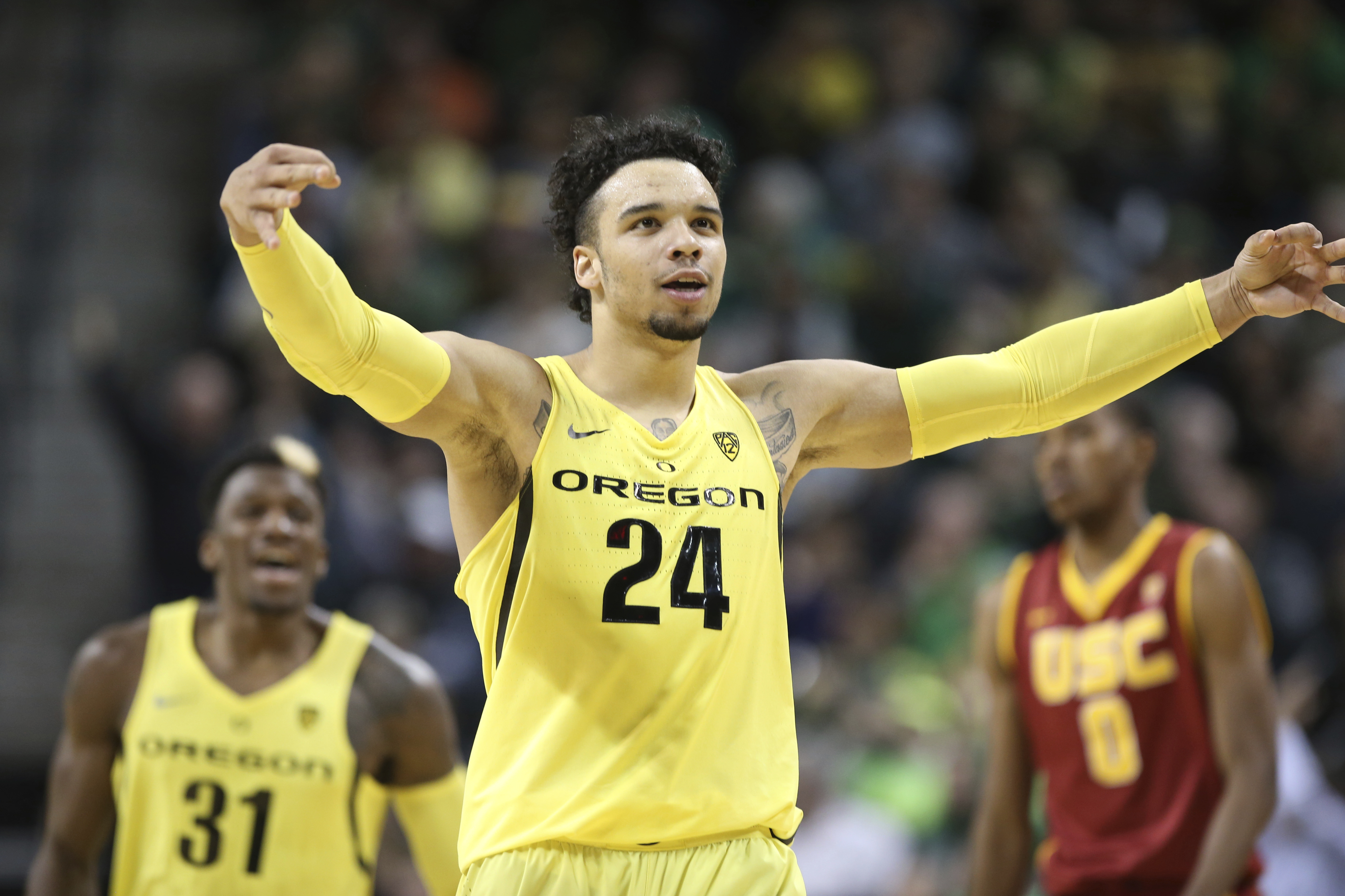 ankle oregons dillon brooks - HD 5184×3456