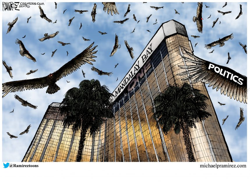 Michael Ramirez for Oct 11, 2017