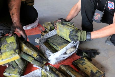 Paraguay Police Seize Cocaine Haul Worth Record 0M Hidden in Charcoal