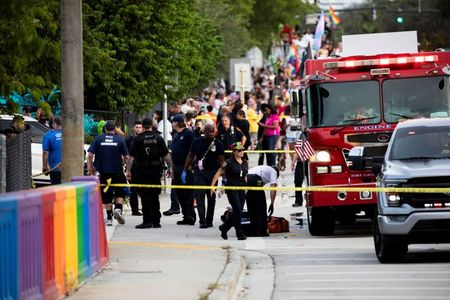 One dead after driver crashes into crowd at Pride Parade in Florida
